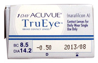 1 day acuvue trueye Prescription